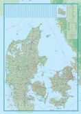 Denmark Travel Reference map